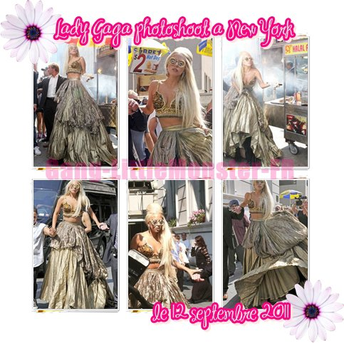 Lady Gaga -  New York le  12 septembre 2011
