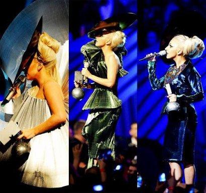 Lady Gaga remporte 4 awards aux  MTV Europe Music Awards 2011 !