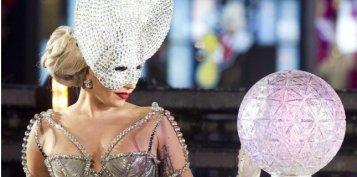 Lady Gaga fete  le nouvel An à Times Square !