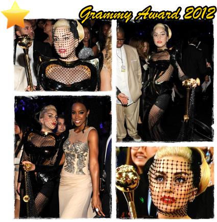 Lady Gaga - Grammy Award 2012
