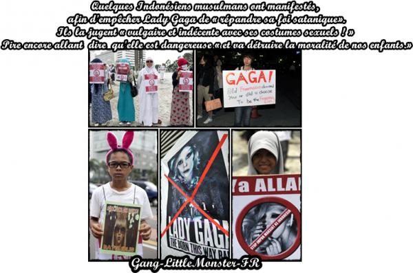 Lady Gaga - obligée d'annuler son concert du 3 juin en Indonésie !?