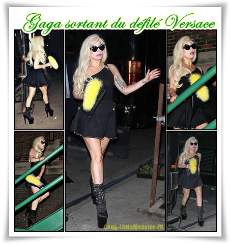 Gaga directrice musicale chez Versace !