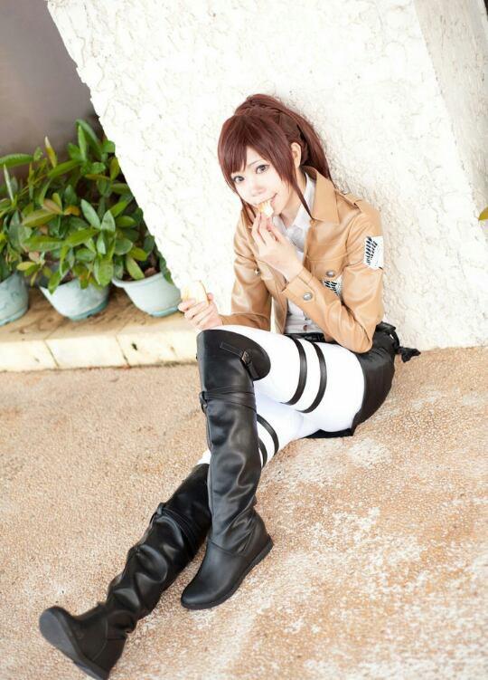 Cosplay ☆ Shingeki No Kyojin