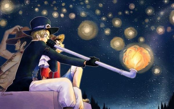 """""""Ace, Luffy, un jour, nous partirons en mer, nous quitterons ce royaume ! Et nous serons libres ! Ce que je veux, c'est découvrir le monde et écrire nos mémoires sur nos aventures !""""  _Sabo à Ace & Luffy"""