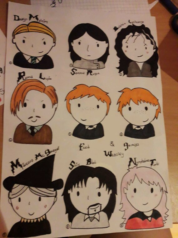 Draw Harry Potter ♡