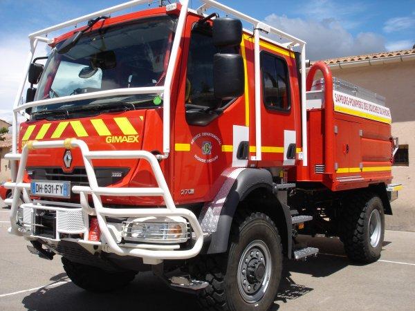 nouveau ccf-29 4000l gimaex affecter au centre de secours de trets