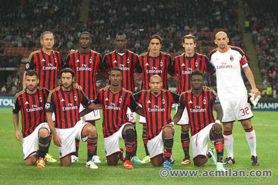 Milan AC 2-0 Celtic