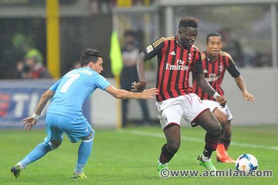 Milan AC 1-2 Napoli