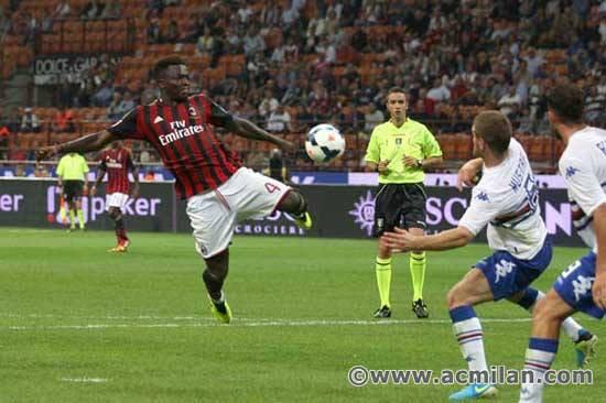 Milan AC 1-0 Sampdoria