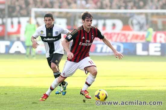 Parma 3-2 Milan AC