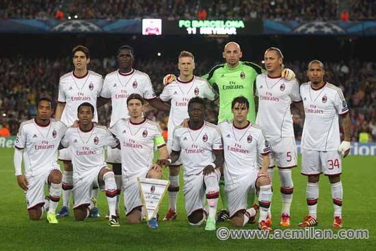 Barcelone 3-1 Milan AC