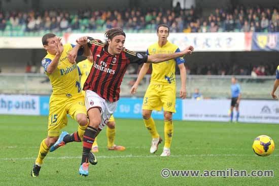 Chievo Verona 0-0 Milan  AC