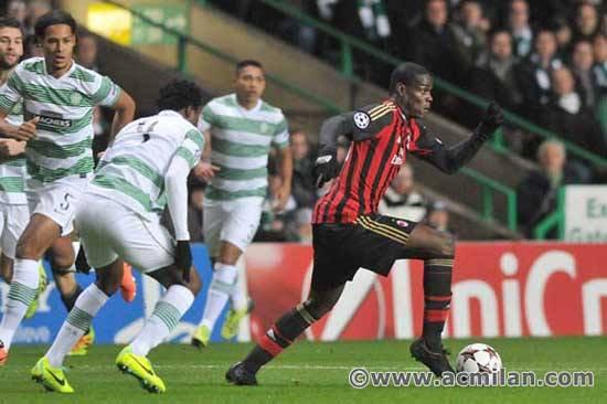 Celtic 0-3 Milan AC