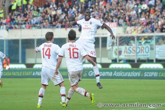 Catania 1-3 Milan AC