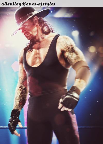 un peu de WWE avec taker & randy