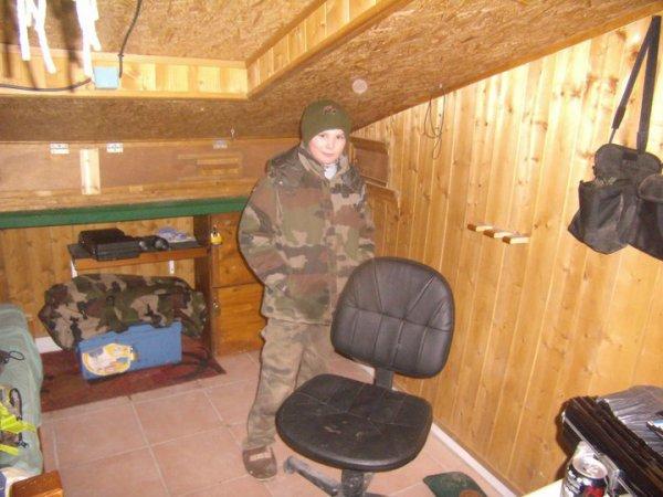 moi la première fois que j'ai étais a la hutte j'avais 11 ans