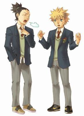 Shikamaru & Naruto ♥