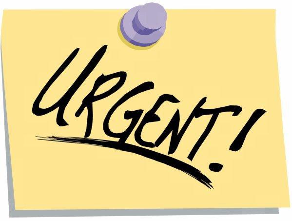 urgent !!!!!!!!!!!!!