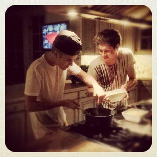 Niall Et Justin B.