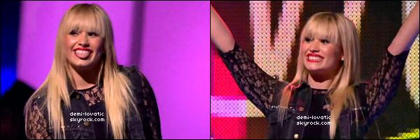 . 18/10/2012 : Demi a performé à la cérémonie We Day. (Canada) ..