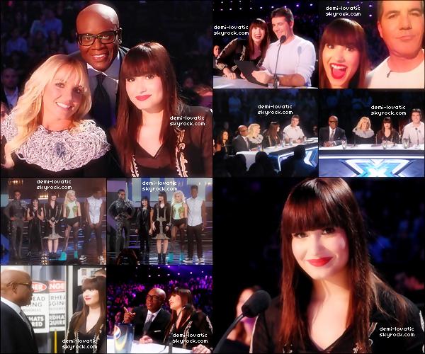 . 31/10/2012 : Le tout  premier Live Show d ' X Factor U.S.A a été diffusé ..  Voir le Live Show → Première Partie   →  Deuxième partie.