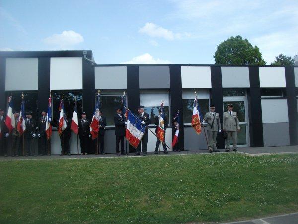 une très belle imauguration se vendredi 12 juin a ribemont (02) aisne en l honneur des soldats du 144è r.i disparu le 29 aout 1914