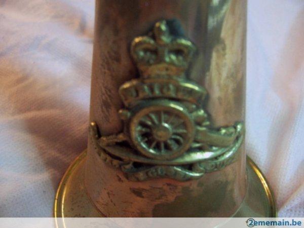 petite rentrée pour demain ,clairon Anglais régiment artillerie w w 1