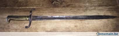 nouvelle rentrée ,ma 3 èm baïonnettes Allemande M/1871 ,voila après restauration un bon résultats .