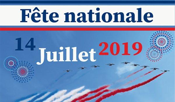 je souhaite un bon 14 juillet a mes amis de France ,nono