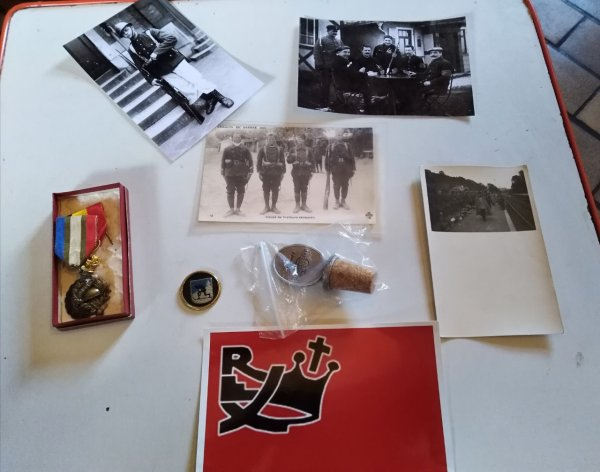photos ww1 et divers objet us