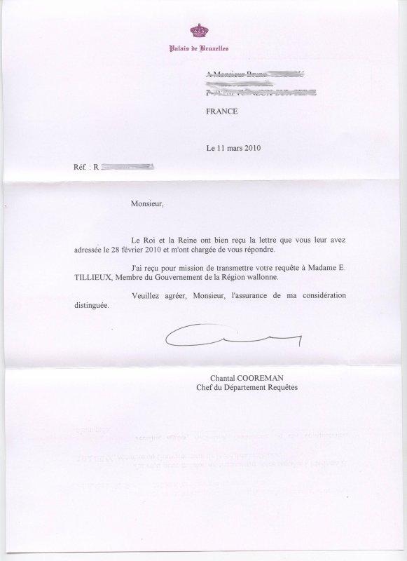 Lettres à leurs Altesses Royales de Belgique.! Egalement au Comité des droits aux personnes handicapées, afin que tout le monde comprenne la vie de nos enfants confiés à des intitutions soit disant oeuvrant pour leur bien-être