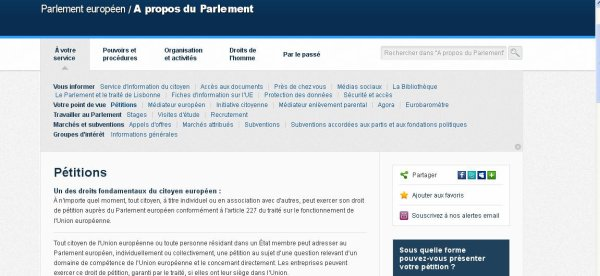 "Petition ""interdiction à la discrimination de la part de la Justice française"""