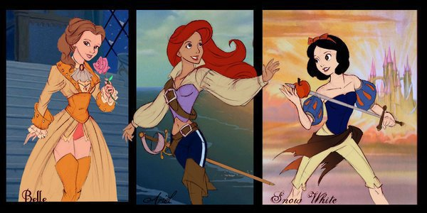 3 princesses pirates