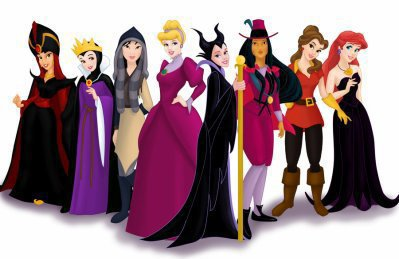 Les princesses déguisée en méchante