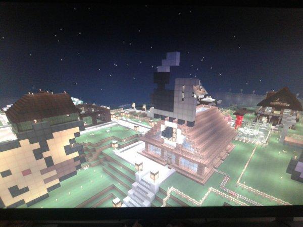 Quelque image du serveur minecraft sur lequel je joue