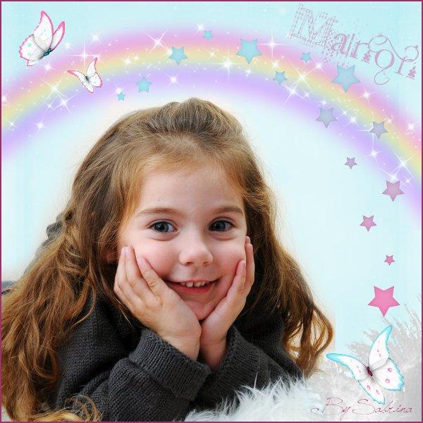 Manon ma cousine bientôt 5 ans déjà