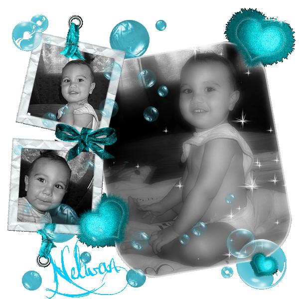 Nelwan mon petit frère 17 mois 1/2