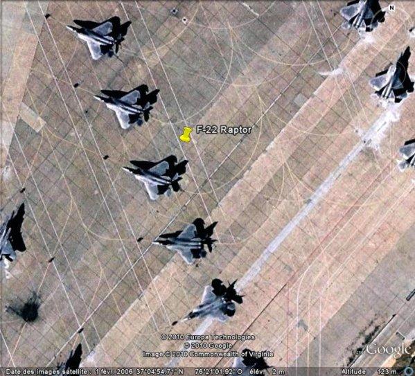 F-22 Raptor à Langley Air Force Base