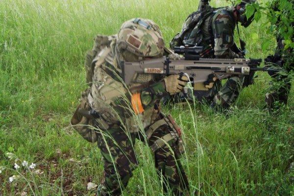 OP à Caylus au Camp militaire