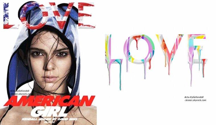 Kendall est apparue dans LOVE Magazine, juin 2014 + Kendall et Kylie étaient à un rendez-vous professionnel, à Los Angeles, le 16 juillet 2014 + Kylie était avec Jaden Smith, le 15 juiller 2014, à Calabasas.