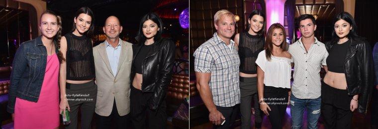 Kendall et Kylie, lors de la soirée Dujour, le 28 août 2014, à New York.