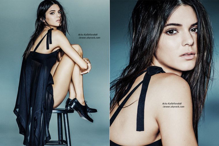 "Shooting de Kendall :  ""Angels"" par Russel James."