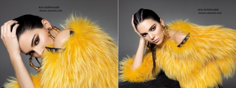 Shooting de Kendall : Sunday Times Styles par Andrea Klarin.