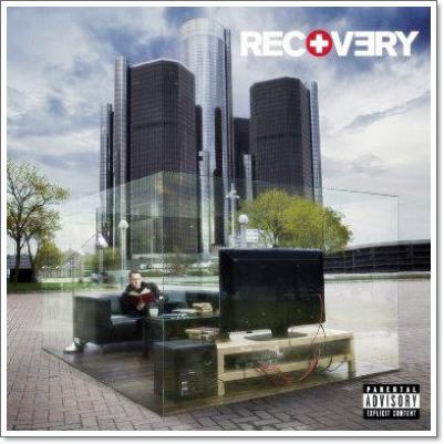 Le classement de L'album de Recovery dans le monde