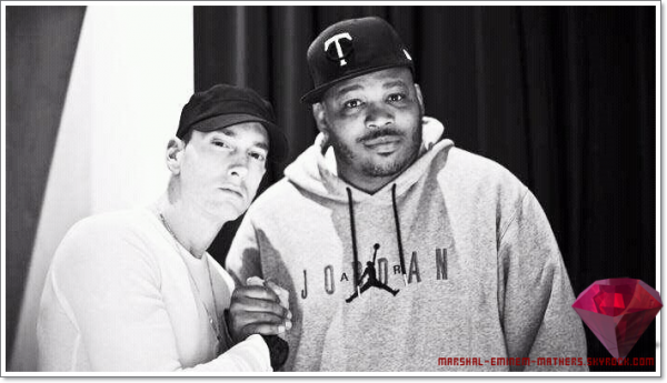 Eminem et le producteur Will Power