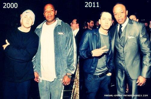 Dr Dre & Eminem les inséparables