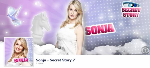 Sonja - Secret Story 7 - Page Facebook!