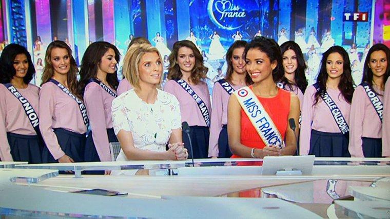 Les Miss au JT de 13h