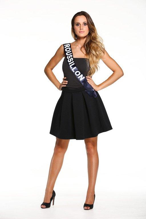 Photos officielles des candidates à Miss France 2015