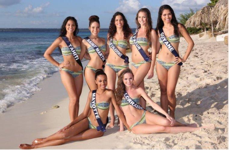 Photos des 33 candidates en maillot de bain à Punta Cana